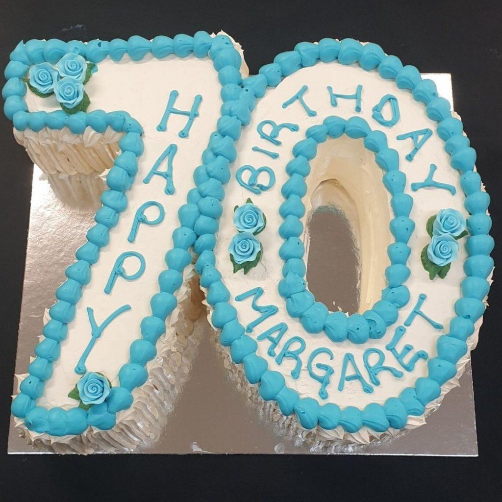 70th birthday cake springwood