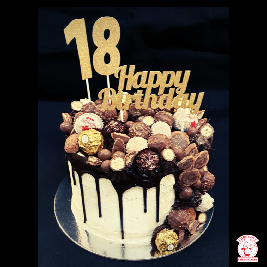 chocolate overload drip custom cakes brisbane