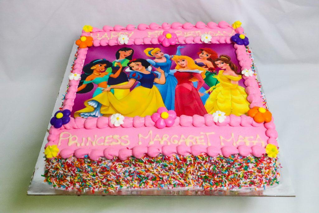 Princess Custom Cake Brisbane
