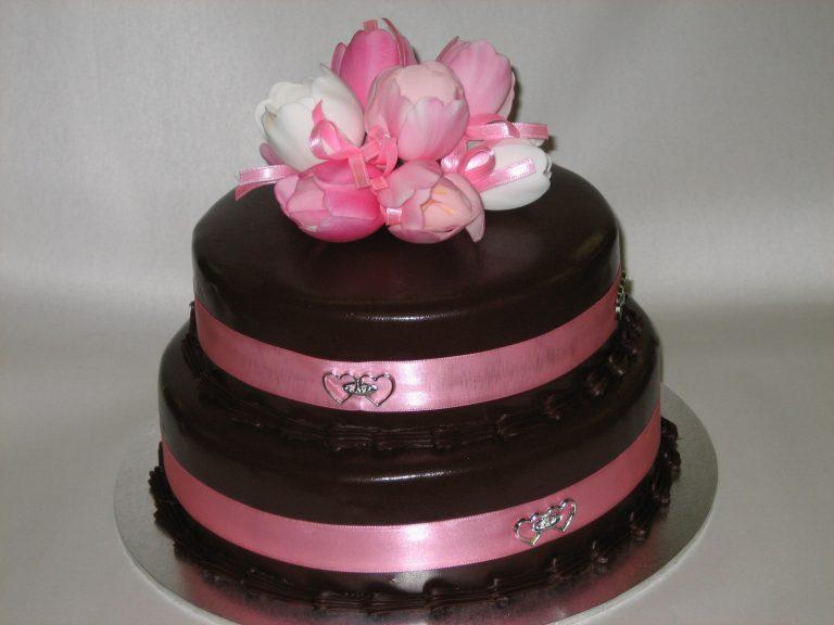 2 tier wedding cake brisbane
