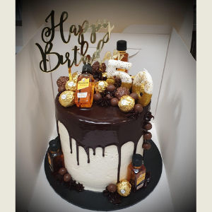 alcohol drip cake brisbane