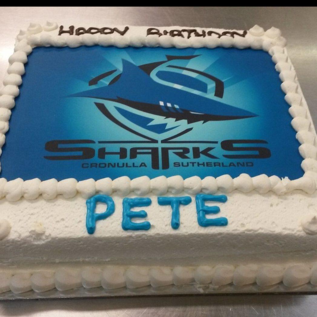 custom cakes football NRL cake brisbane south